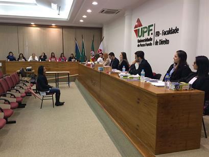 Acadêmicos da UPF participarão do I Concurso de Júri Simulado da ESA/RS
