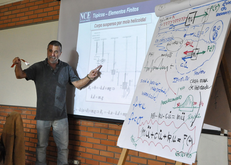 Fear UPF promove curso de Elementos Finitos