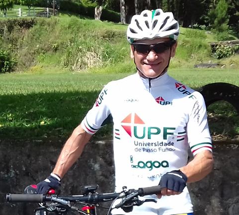 Ciclista da UPF treina forte para as provas de 2017
