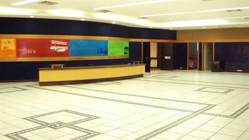 Centro de Eventos - recepção