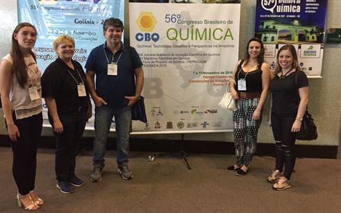 Professores e alunos do curso de Química da UPF participam de congresso no Pará