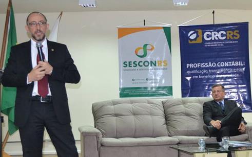 Seminário de Assuntos Contábeis de Sarandi e Frederico Westphalen é realizado na UPF Sarandi