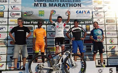 Ricardo Machado é campeão brasileiro de mountain bike