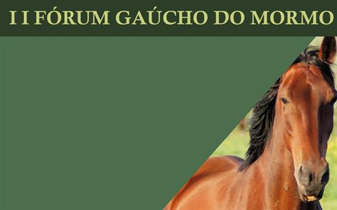 II Fórum Gaúcho do Mormo será lançado nesta sexta-feira, 23