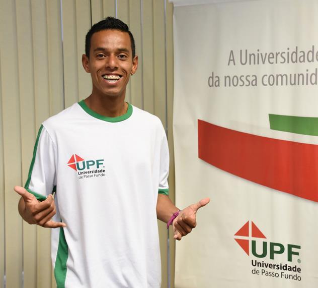Jardelino Flech compete em Cruz Alta no dia 1º de maio