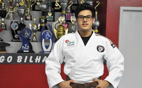 Judoca da UPF é contratado pela Sogipa