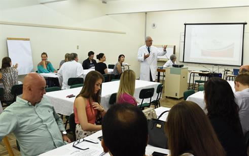 Professores da Medicina da UPF se reúnem para momento de formação docente