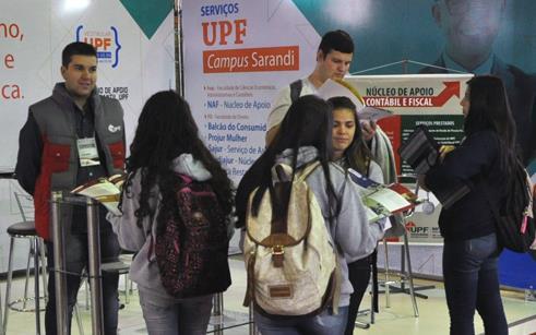 UPF realiza atividades na Feisa 2017