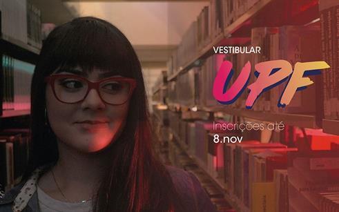 Vestibular de Verão inscreve para cursos na UPF Lagoa Vermelha