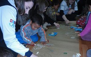 Entidade de Assistência Social recebe atividade de estimulação de linguagem