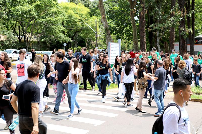 Vestibular de Verão: Um dia especial para a UPF