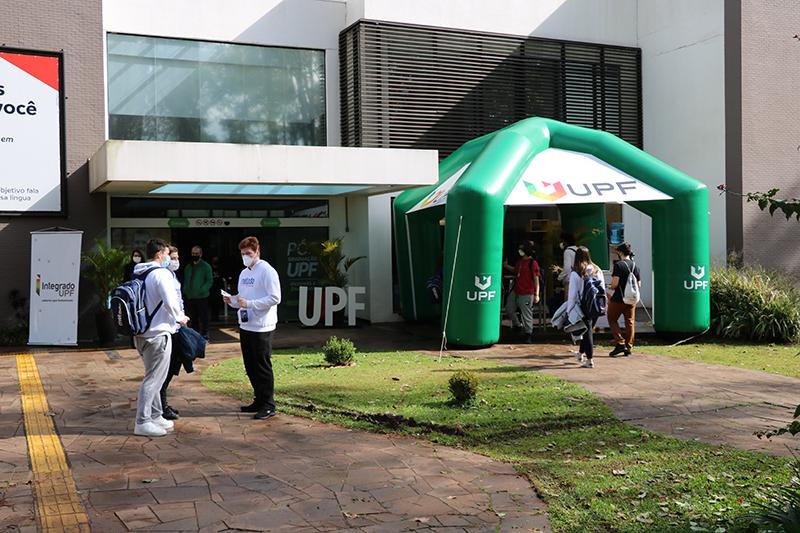 Chuva, sol e Vestibular de Inverno UPF