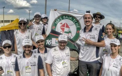 Equipe Mas Baja Tchê participa de competição nacional