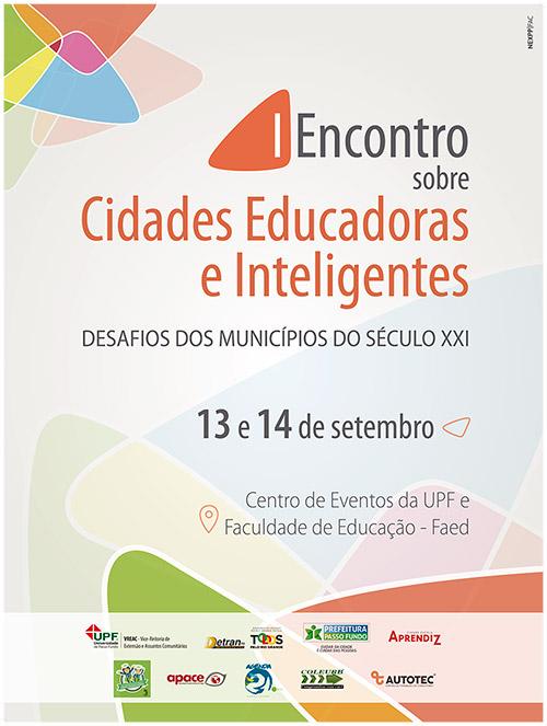 I ENCONTRO SOBRE CIDADES EDUCADORAS E INTELIGENTES