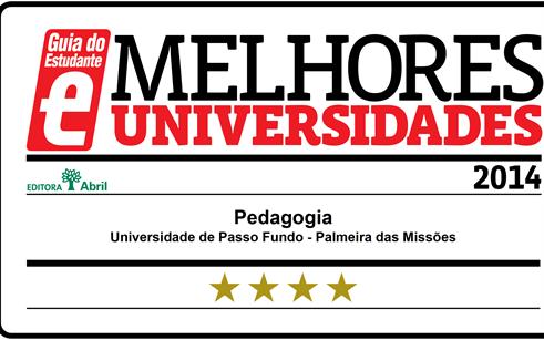 Campus Palmeira das Missões tem dois cursos estrelados pelo Guia do Estudante