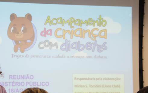 O Acampamento da Criança com Diabetes está chegando