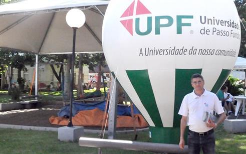 UPF Sarandi presente na 9ª Feira da Uva e da Agroindústria Familiar