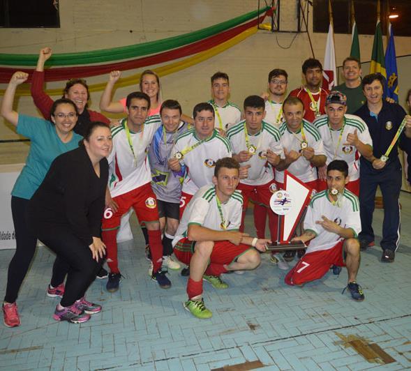 3ª Etapa da Liga Gaúcha de Futsal de Surdos ocorreu na UPF