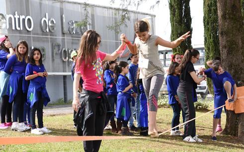 """UPF recebe centenas de crianças nas atividades do projeto """"Valendo Nota"""""""