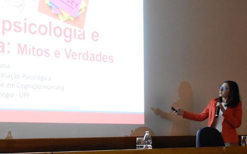 UPF promove atividade em alusão ao Dia do Psicólogo